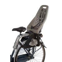 Yepp Maxi Rear Child Bike Seat - Silver