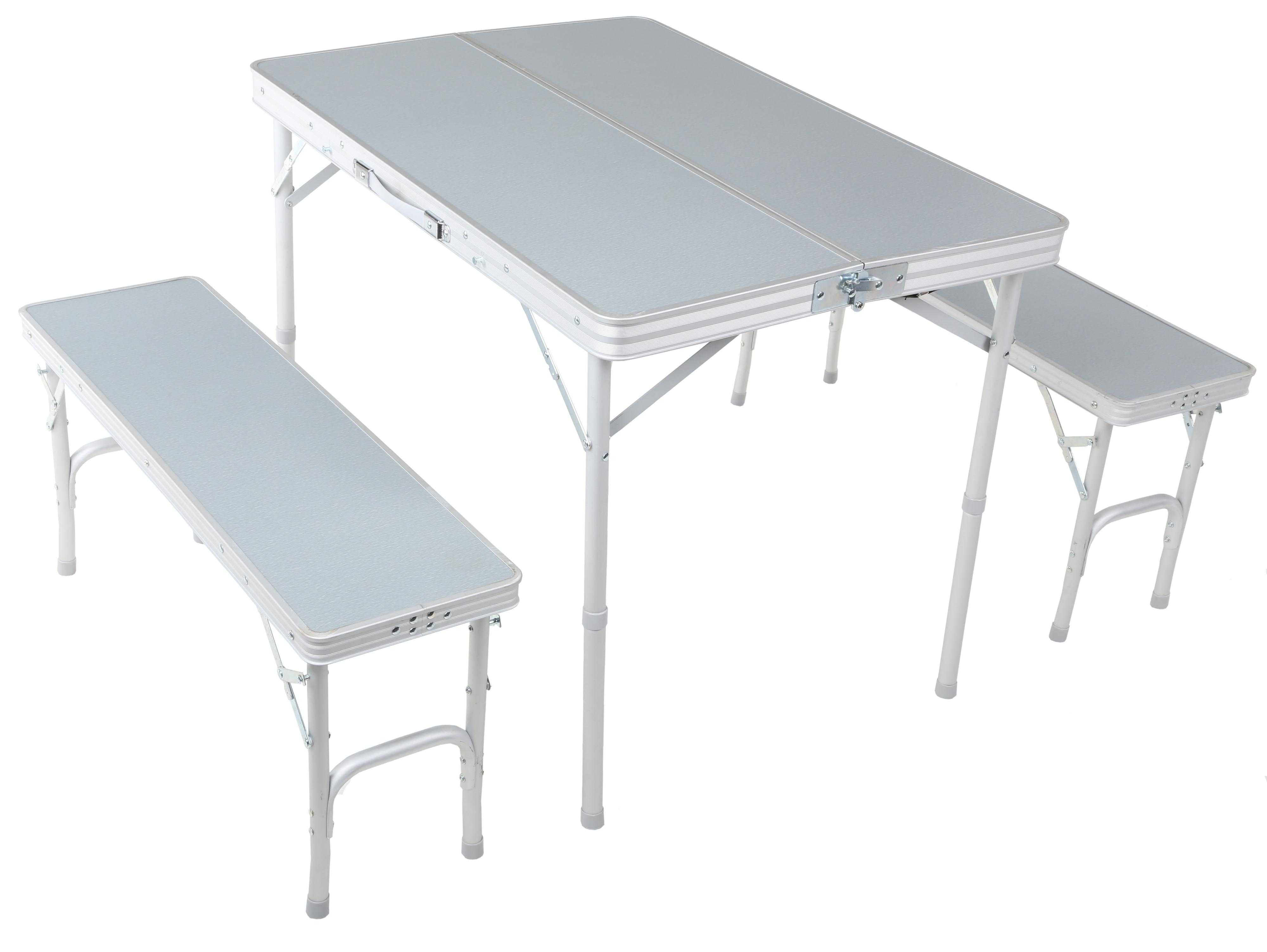 Exceptional Urban Escape Folding Table And Bench Set