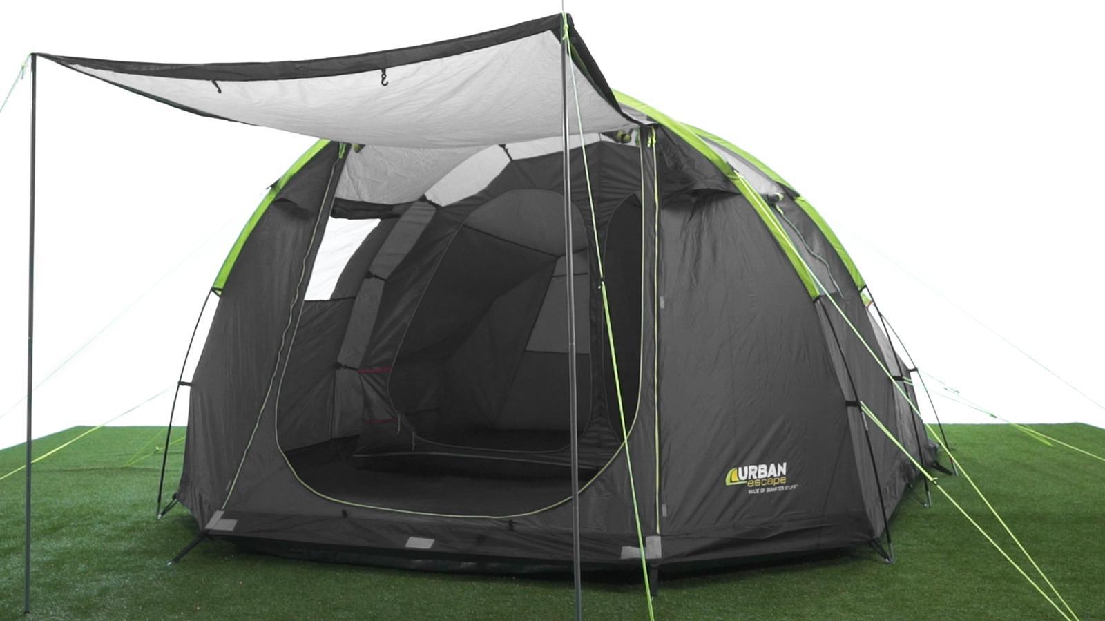 Urban Escape 4 Man Tunnel Tent  sc 1 st  Halfords & Escape 4 Man Tunnel Tent