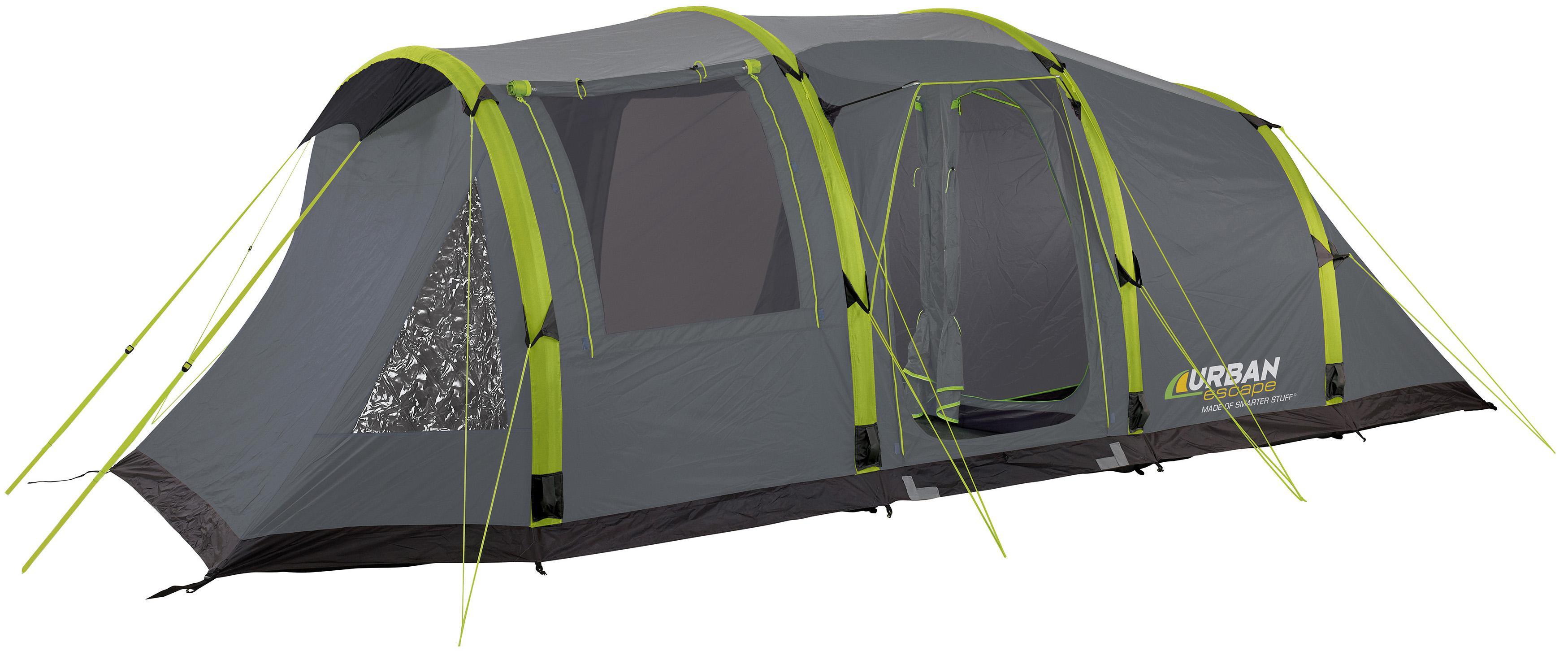 Urban Escape 6 Man Inflatable Tent  sc 1 st  Halfords & Escape 6 Man Inflatable Tent
