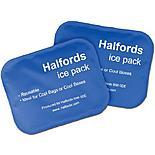 Halfords Medium Ice Pack x2 New