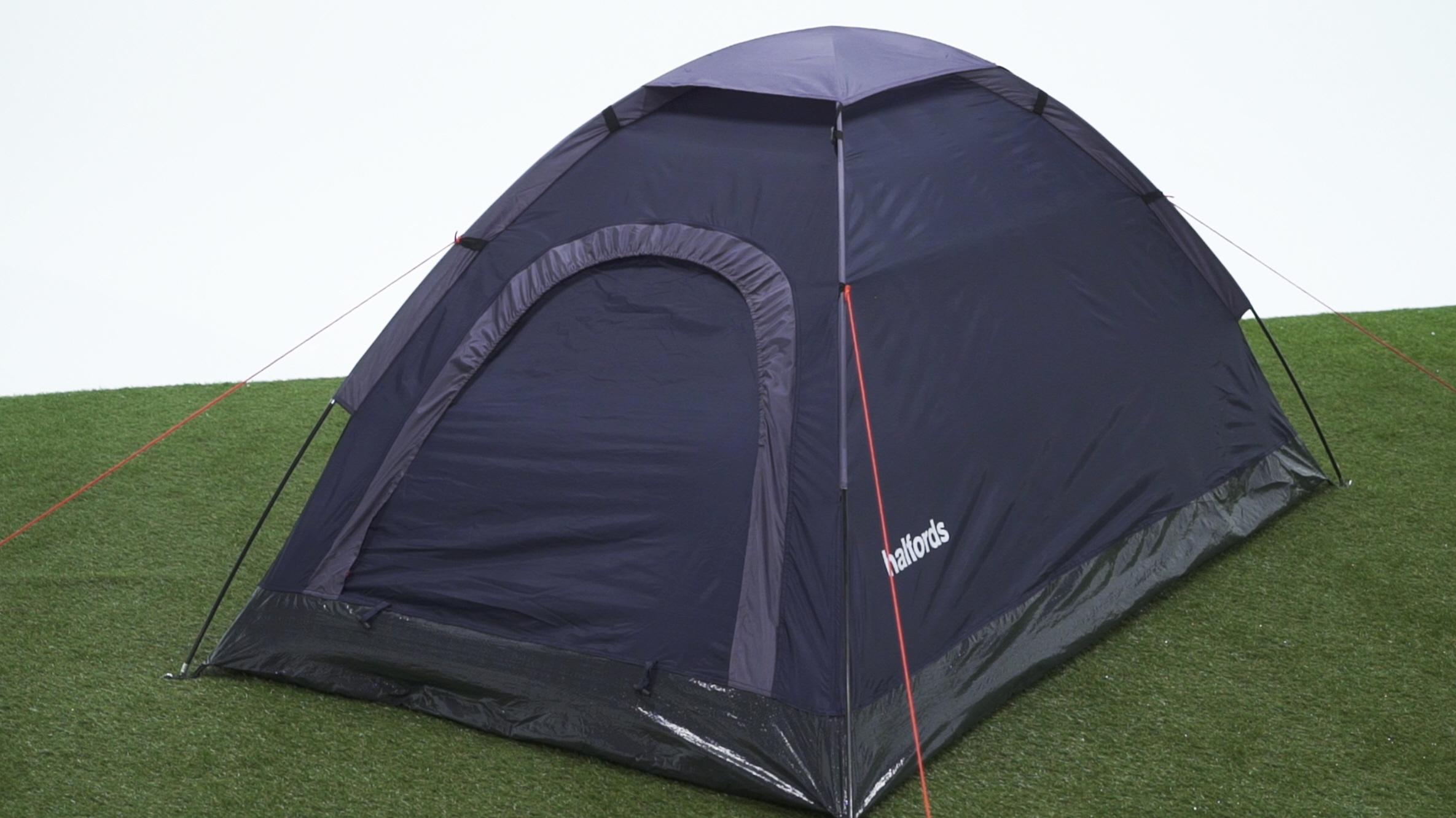 Halfords 2 Man Dome Tent & 2 Man Dome Tent