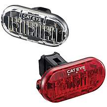 image of Cateye Omni 3 Front & Rear Bike Light Set