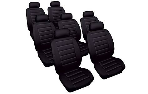 image of Cosmos Leather Look Toyota Previa Car Seat Covers (00-05)