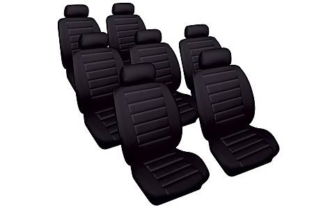 image of Cosmos Leather Look Car Seat Covers for Toyota Previa 2000-2005