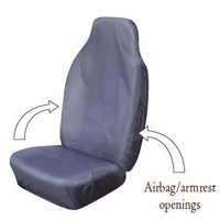 Cosmos Hi Back Extra Grey Car Seat Cover