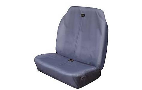 image of Cosmos Hi Back 'Double Grey' Car Seat Cover