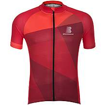 image of Boardman Mens Short Sleeve Cycling Jersey - Red