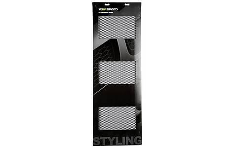 image of Ripspeed Black Stretch Grid Competition Mesh