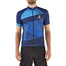 image of Boardman Mens Short Sleeve Cycling Jersey - Blue
