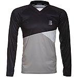 image of Boardman Mens Mountain Bike Long Sleeve Jersey - Black/Grey