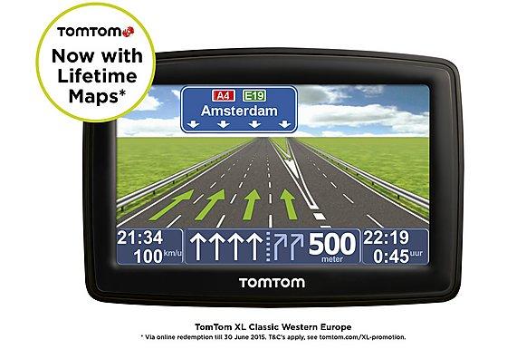 TomTom XL UK, ROI & Western Europe Classic 4.3