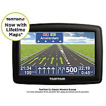 "image of TomTom XL UK, ROI & Western Europe Classic 4.3"" Sat Nav with Free Lifetime Maps"
