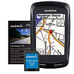 image of Garmin Edge 800 GPS Cycle Computer with Heart Rate, Cadence & Full European Road Mapping