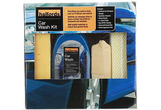 Halfords Car Wash Kit