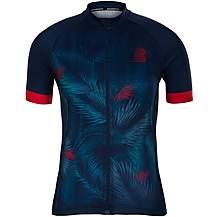image of Boardman Womens Sport Fit Short Sleeve Cycling Jersey - Leaf