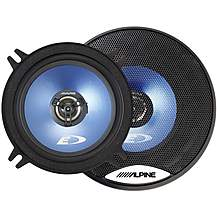 "image of Alpine 5.25"" Coaxial 2-Way Blue Titanium Speakers"