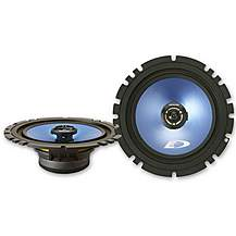 "image of Alpine 6.5"" Coaxial 2-Way Blue Titanium Speakers"