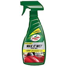 image of Turtle Wax Wet & Dry Spray Wax 500ml