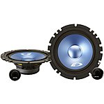 "image of Alpine 6.5"" Component 2-Way Blue Titanium Speakers"