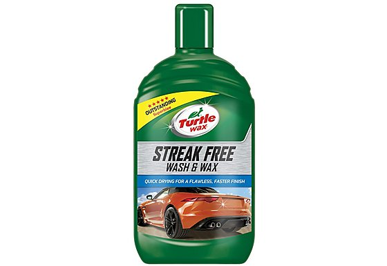 Turtle Wax Super Clean Wash & Wax 500ml