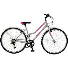 image of Falcon Swift Womens Steel Hybrid Bike