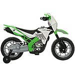 image of Roadsterz 6v Motorbike Green