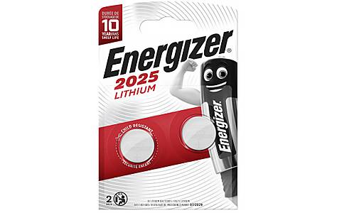 image of Energizer CR2025 Battery Twin Pack
