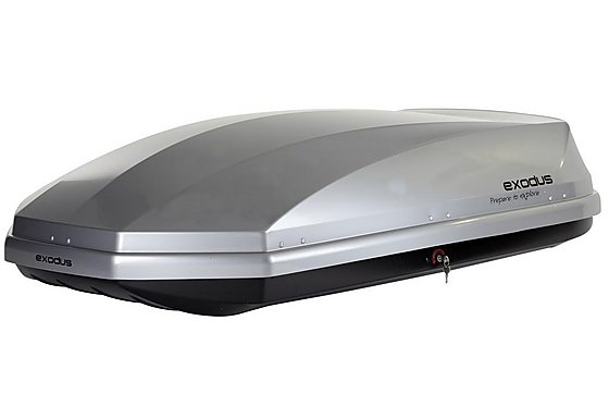 Exodus 470L Gloss Silver Roof Box