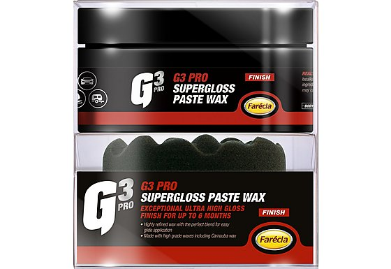 Farecla G3 Super Gloss Paste Wax 200g