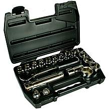 image of Halfords Advanced 19 Piece Vortex Socket Set 1/2""