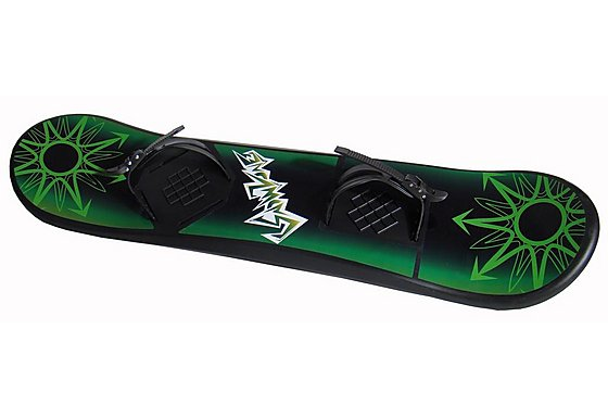 Snow Board Green Star