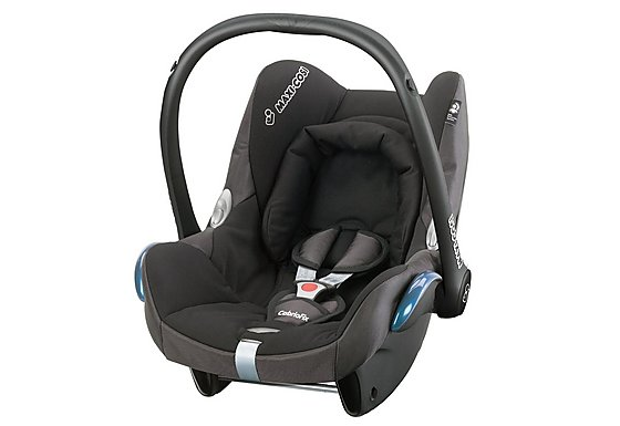Maxi-Cosi Cabriofix Baby Car Seat Black Reflection