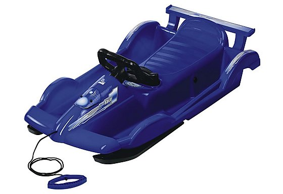 Snow Racer Blue Sledge