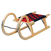image of Snow Rodel 100 Traditional Wooden Sledge