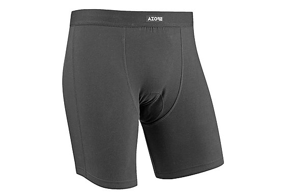 Azore Mens Padded Cycling Boxer Shorts - XLarge