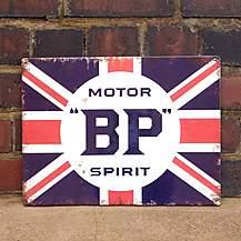 image of BP Metal Wall Sign