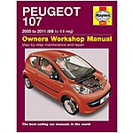 image of Haynes Peugeot 107  (05-11) Manual