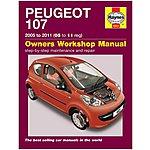 image of Haynes Peugeot 107  (05-11) Manual