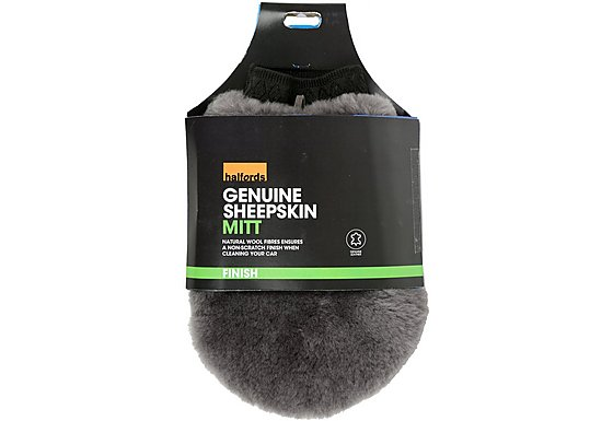 Halfords Genuine Sheepskin Mitt