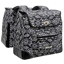 image of New Looxs Romano Alba Double Bike Pannier - Black