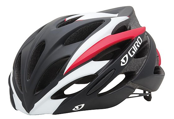 Giro Savant Bike Helmet - Black/Red (59-63cm)