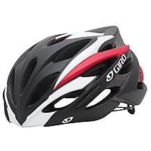 image of Giro Savant Bike Helmet - Black/Red (59-63cm)