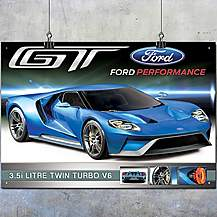 image of Ford GT Metal Wall Sign