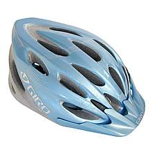 image of Giro Skyla Pale Blue Flowers Bike Helmet (50-57cm)