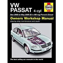 image of Haynes VW Passat (00 to May 05) Manual