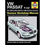 Haynes VW Passat (00 to May 05) Manual