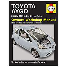 image of Haynes Toyota Aygo (05 - 11) Manual