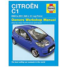 image of Haynes Citroen C1 Petrol (05-11) Manual