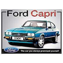 image of Ford Capri Metal Wall Sign